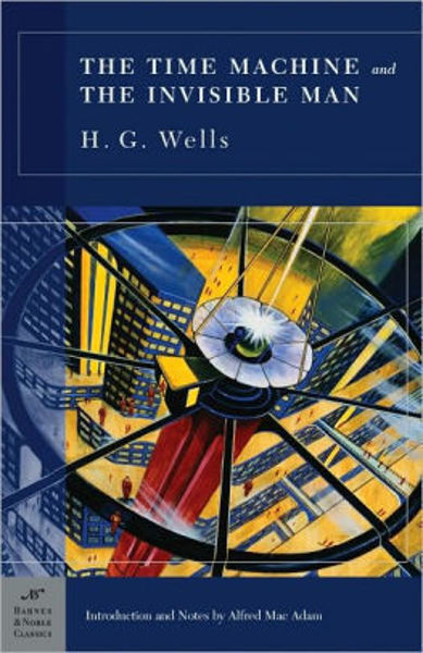 Picture of THE TIME MACHINE by H. G. Wells [PAPER BACK]