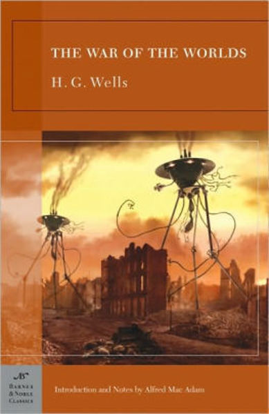 Picture of THE WAR OF THE WORLDS by H. G. Wells [PAPER BACK]