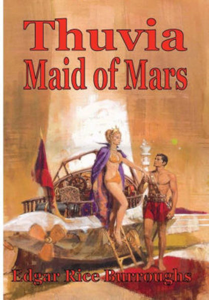 Picture of John Carter#04 - THUVIA, MAID OF MARS by Edgar Rice Burroughs [PAPER BACK]