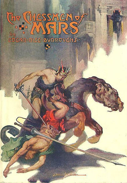 Picture of John Carter#05 - THE CHESSMEN OF MARS by Edgar Rice Burroughs [PAPER BACK]
