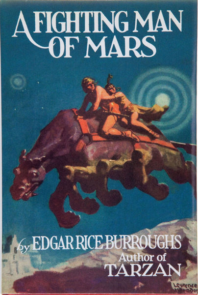 Picture of John Carter#07 - A FIGHTING MAN OF MARS by Edgar Rice Burroughs [PAPER BACK]