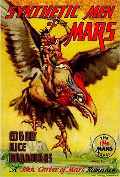 Picture of John Carter#09 - SYNTHETIC MEN OF MARS by Edgar Rice Burroughs [PAPER BACK]