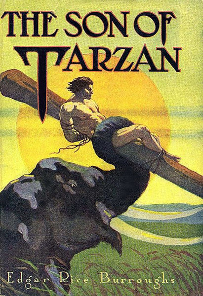 Picture of Tarzan#04 - SON OF TARZAN by Edgar Rice Burroughs [PAPER BACK]
