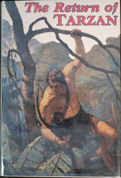 Picture of Tarzan#02 - THE RETURN OF TARZAN by Edgar Rice Burroughs [PAPER BACK]