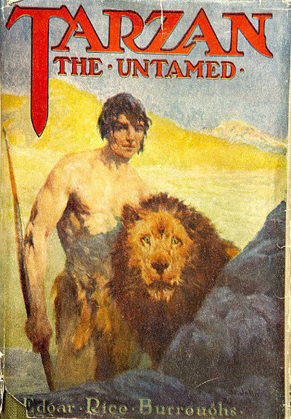 Picture of Tarzan#07 - TARZAN THE UNTAMED by Edgar Rice Burroughs [PAPER BACK]