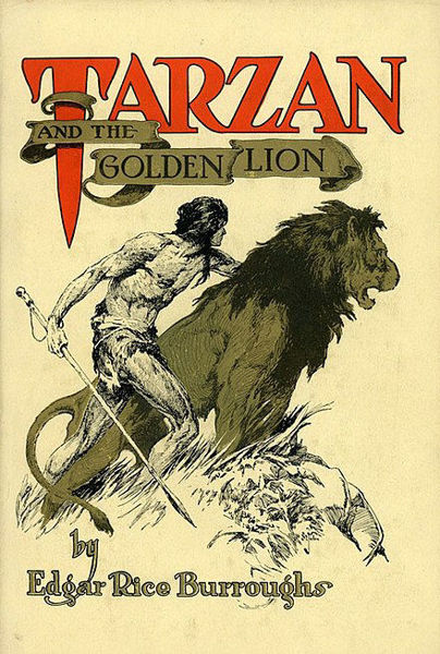 Picture of Tarzan#09 - TARZAN AND THE GOLDEN LION  by Edgar Rice Burroughs [PAPER BACK]