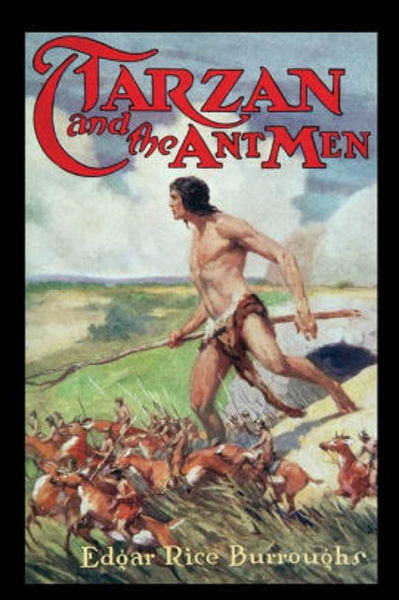 Picture of Tarzan#10 - TARZAN AND THE ANT MEN  by Edgar Rice Burroughs [PAPER BACK]