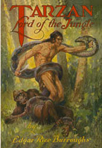 Picture of Tarzan#11 - TARZAN, LORD OF THE JUNGLE  by Edgar Rice Burroughs [PAPER BACK]