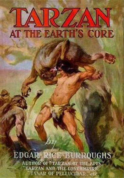 Picture of Tarzan#13 - TARZAN AT THE EARTH'S CORE  by Edgar Rice Burroughs [PAPER BACK]