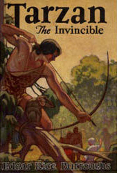 Picture of Tarzan#14 - TARZAN THE INVINCIBLE  by Edgar Rice Burroughs [PAPER BACK]