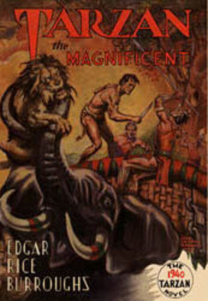 Picture of Tarzan#21 - TARZAN THE MAGNIFICENT  by Edgar Rice Burroughs [PAPER BACK]