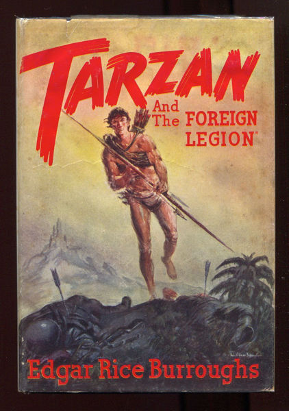 Picture of Tarzan#22 - TARZAN AND THE FOREIGN LEGION  by Edgar Rice Burroughs [PAPER BACK]