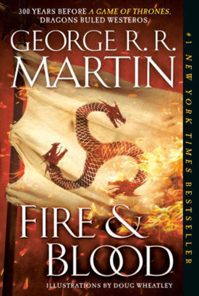 Picture of FIRE & BLOOD by George R. R. Martin [PAPER BACK]