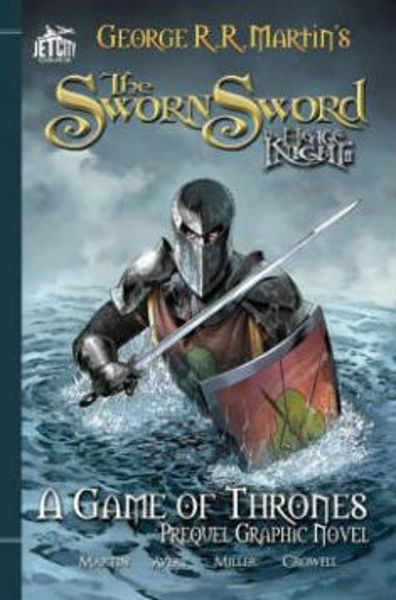 Picture of HEDGE KNIGHT II: THE SWORN SWORD  by George R. R. Martin [PAPER BACK]